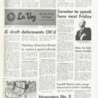 De Anza La Voz March 1 1968