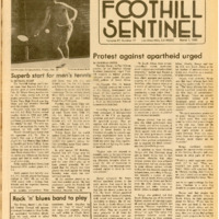 Foothill Sentinel March 1 1985