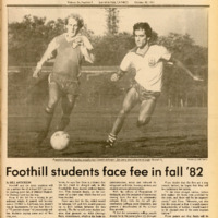 Foothill Sentinel October 30 1981