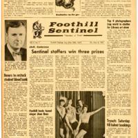 Foothill Sentinel November 08 1963