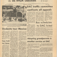 De Anza La Voz October 12 1973
