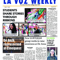 De Anza La Voz March 10 2014
