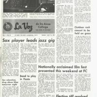 De Anza La Voz May 23 1969