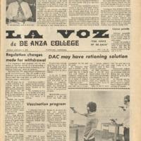 De Anza La Voz January 25 1974