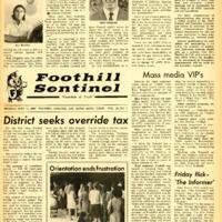 Foothill Sentinel September 11 1967