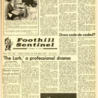 Foothill Sentinel November 3 1967