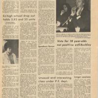 De Anza La Voz November 19 1971