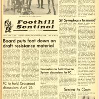 Foothill Sentinel April 5