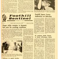 Foothill Sentinel October 29 1965