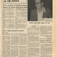 De Anza La Voz January 17 1975