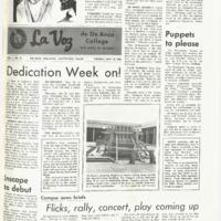 De Anza La Voz May 10 1968