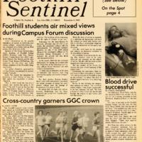 Foothill Sentinel November 4 1983