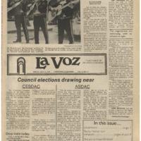 De Anza La Voz May 11 1979
