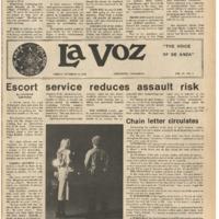 De Anza La Voz October 13 1978