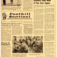 Foothill Sentinel December 4 1959