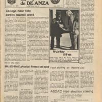 De Anza La Voz January 31 1975
