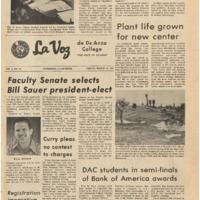 De Anza La Voz March 10 1972