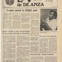 De Anza La Voz October 18 1974