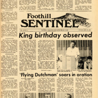 Foothill Sentinel January 19 1971