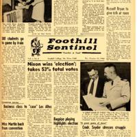 Foothill Sentinel October 28 1960