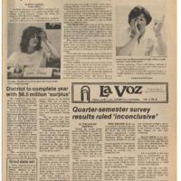 De Anza La Voz June 1 1979