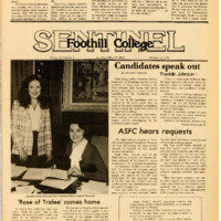 Foothill Sentinel October 12 1979