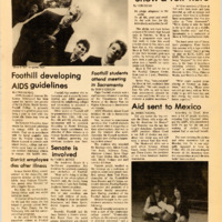 Foothill Sentinel November 1 1985