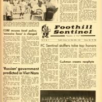 Foothill Sentinel November 19 1965