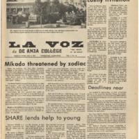 De Anza La Voz February 8 1974