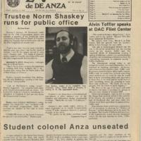 De Anza La Voz March 12 1976