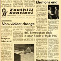 Foothill Sentinel June 6 1969