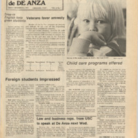De Anza La Voz November 8 1974