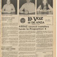 De Anza La Voz May 21 1976