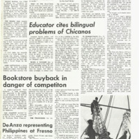 De Anza La Voz May 9 1969