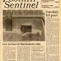 Foothill Sentinel January 13 1984