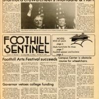 Foothill Sentinel October 19 1984