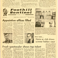 Foothill Sentinel May 28 1965