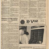 De Anza La Voz January 26 1979