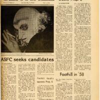 Foothill Sentinel November 3 1978