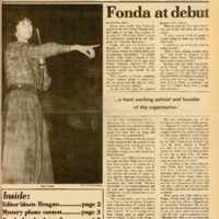 Foothill Sentinel January 22 1982