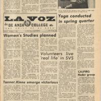 De Anza La Voz March 2 1973