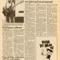 Foothill Sentinel January 17 1986