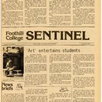 Foothill Sentinel November 5 1976