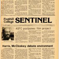 Foothill Sentinel October 22 1976