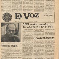 De Anza La Voz November 5 1976