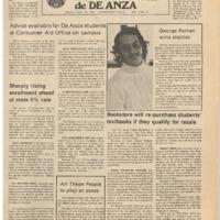 De Anza La Voz November 22 1974
