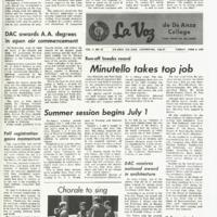 De Anza La Voz June 6 1969