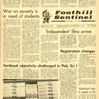 Foothill Sentinel May 3 1968