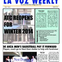 De Anza La Voz January 6 2014