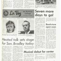 De Anza La Voz March 8 1968